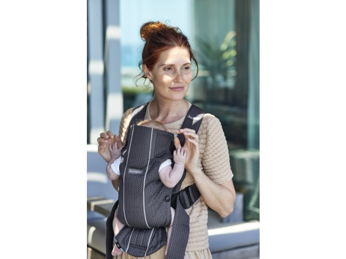 vyr 253 Baby Carrier Mini Anthracite 3D Mesh