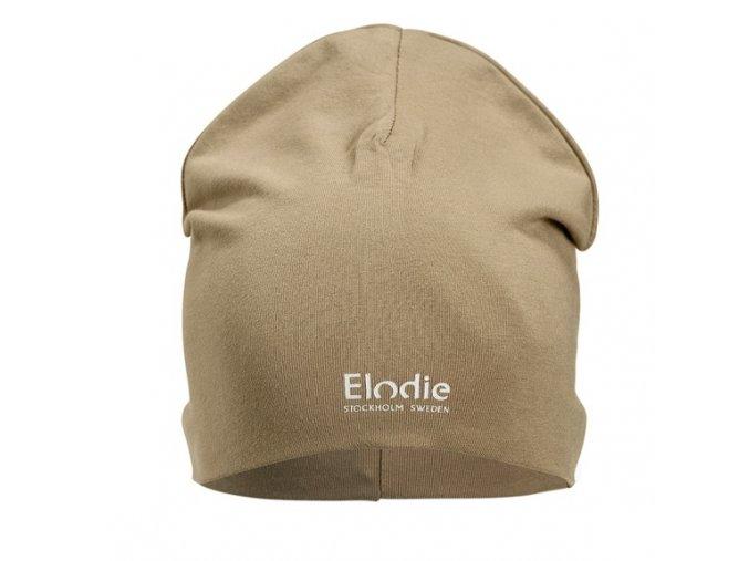 logo beanie warm sand elodie details 1 1000px