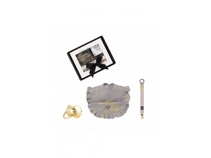 558 2 gift set grey golden collection