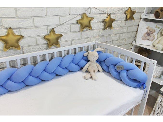 110099 187512 mantinel baby nellys pleteny cop svetle modry