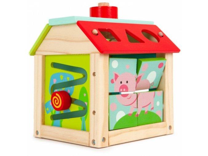 108063 185716 eco toys edukacni drevena kostka farma