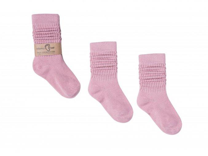 11295 mama s feet de tske podkolenky ponoz ky pink dreams ru z ove