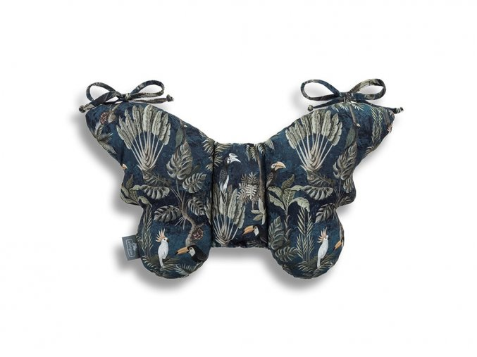Stabilizační polštářek Sleepee Butterfly pillow tmavě šedá
