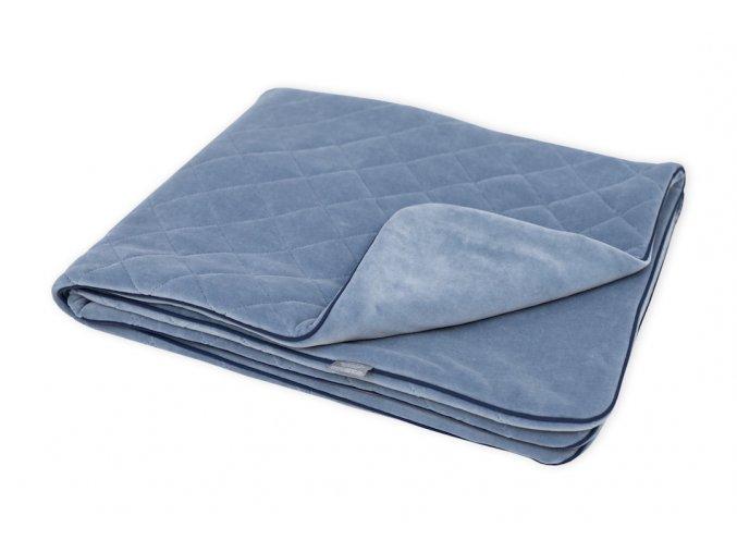 Sametová deka Sleepee Royal Baby modrá