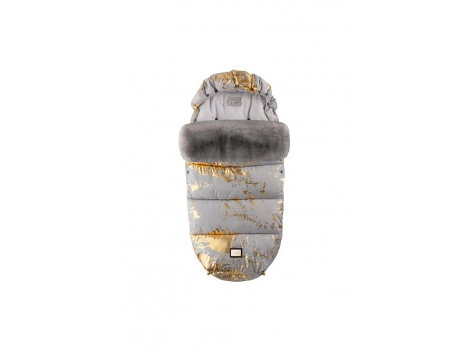 588 footmuff grey golden collection aw19