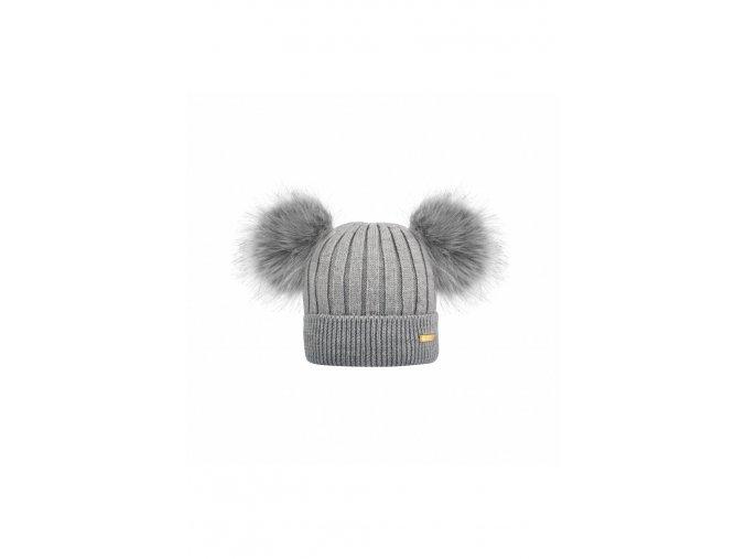 636 winter hat grey
