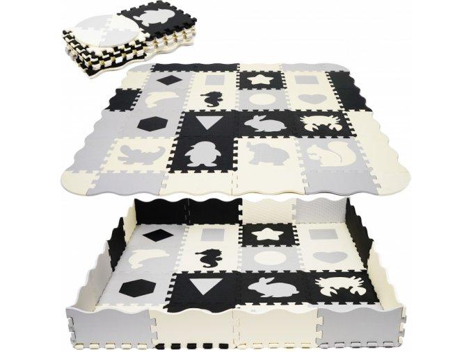 118643 202940 tulimi detske penove puzzle 150x150cm hraci deka podlozka na zem cisla