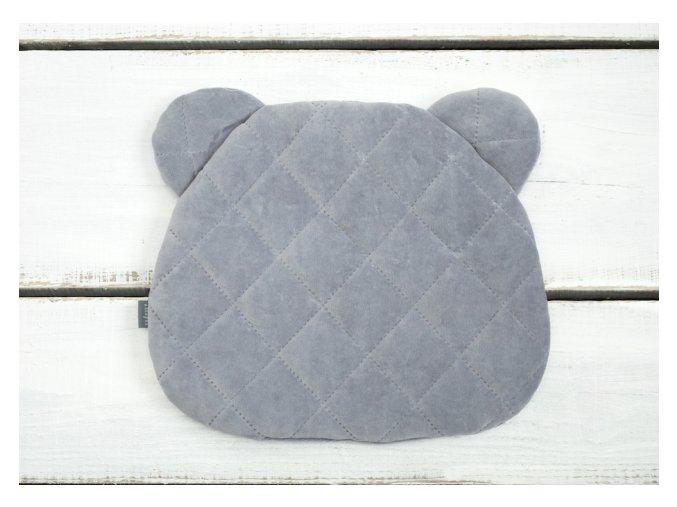 Polštář Sleepee Royal Baby Teddy Bear Pillow šedá