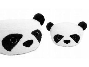 96808 163135 plysovy bobek kresilko animal 60x30cm panda