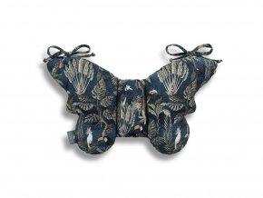 11626 stabilizacni polstarek sleepee butterfly pillow jungle dark blue 2