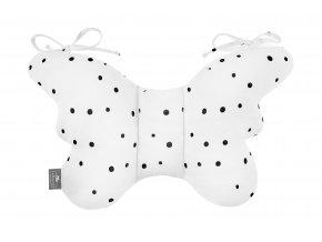 Stabilizační polštářek Sleepee Butterfly pillow tečky
