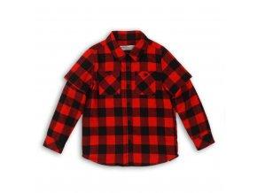 Košile chlapecká, Minoti, červená