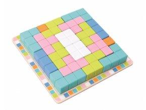 112111 193906 adam toys drevena skladaci hra tetris 19ks