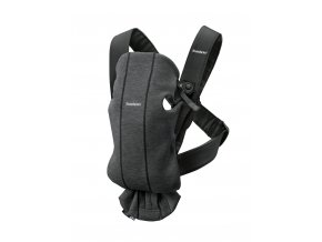 vyr 357 Baby Carrier Mini Charcoal grey 3D Jersey 4