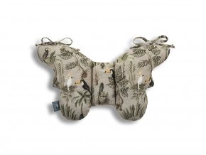 11629 stabilizacni polstarek sleepee butterfly pillow jungle khaki