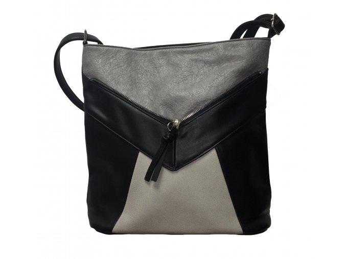 Crossbody kabelka Tapple H1418 tmavě šedá