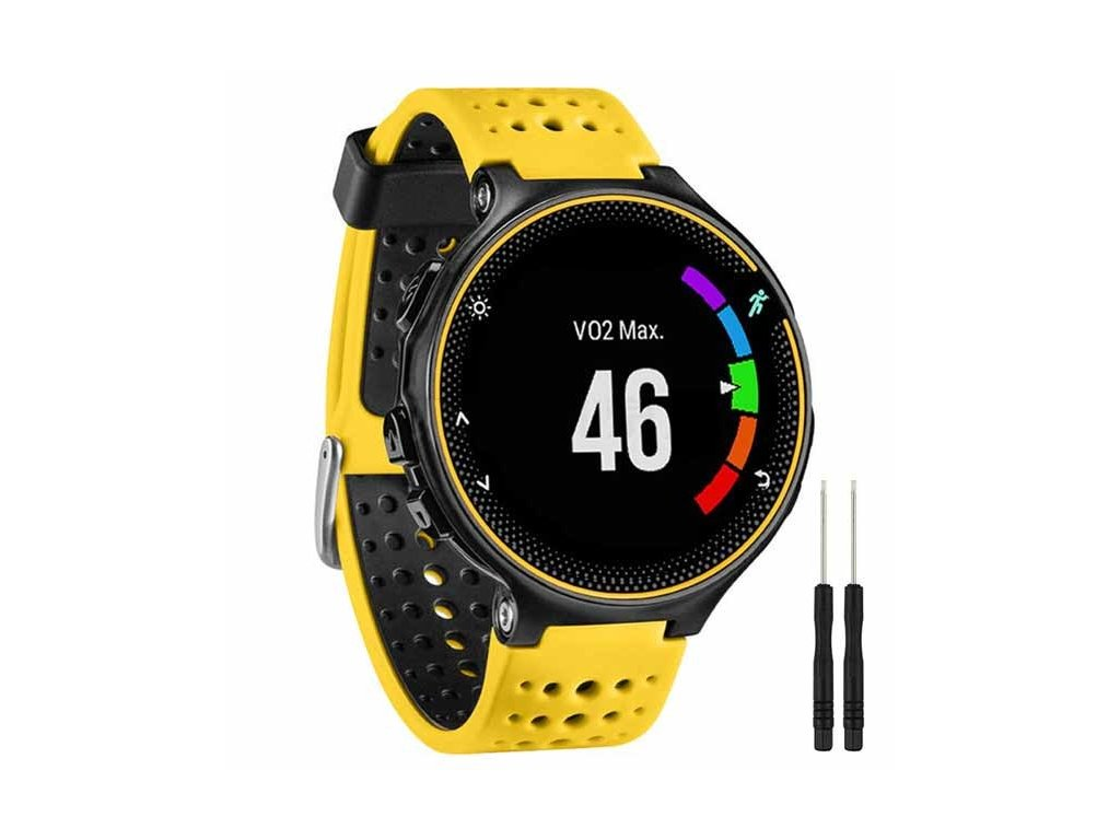 Yellow Black 13 colors for garmin forerunner 235 watch variants 11