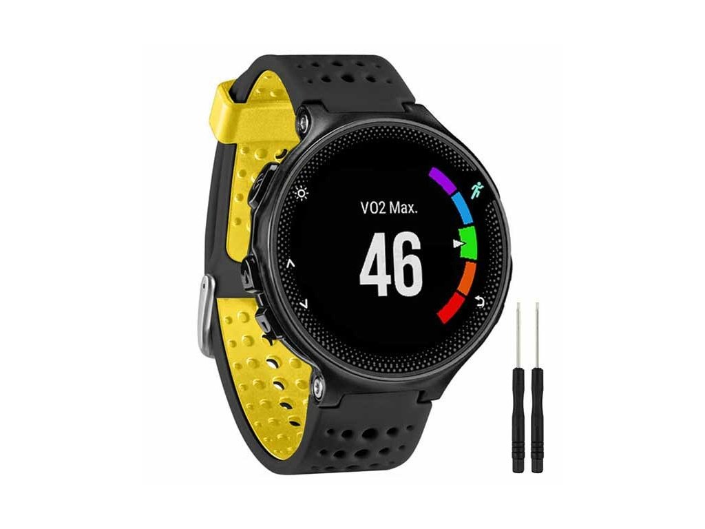 Black Yellow 13 colors for garmin forerunner 235 watch variants 8