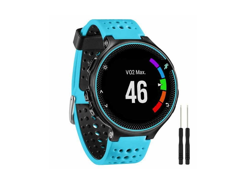 Blue Black 13 colors for garmin forerunner 235 watch variants 9