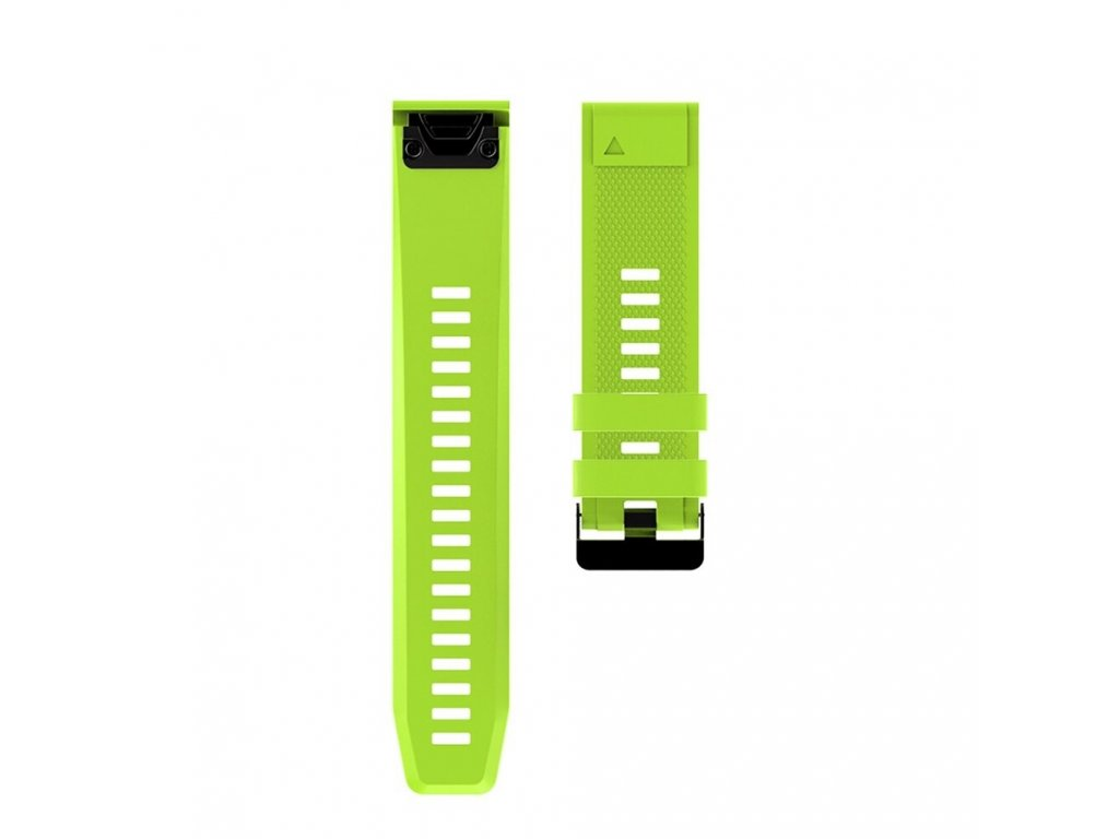3 Grass Green sheng one soft silicone strap for garmin variants 6
