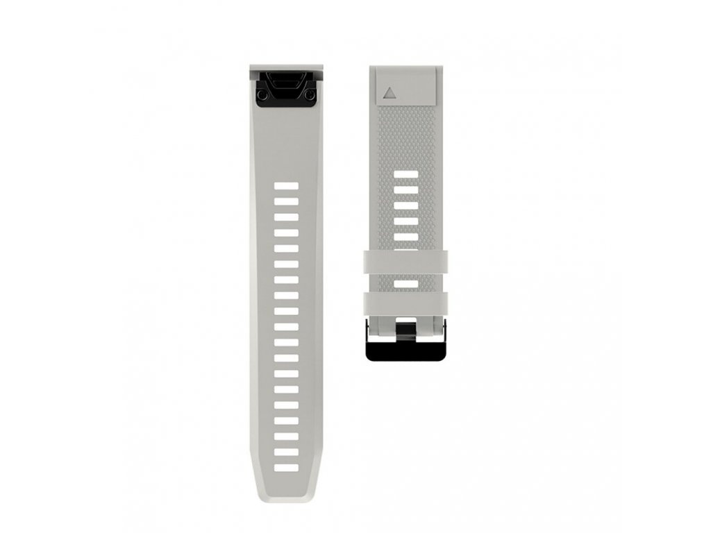 4 Gray sheng one soft silicone strap for garmin variants 8