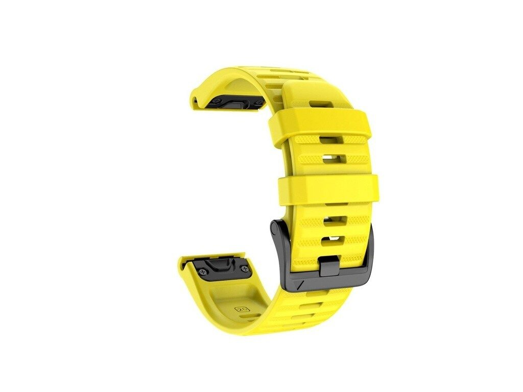 Yellow jker 26 22 mm silicone quick release watc variants 3