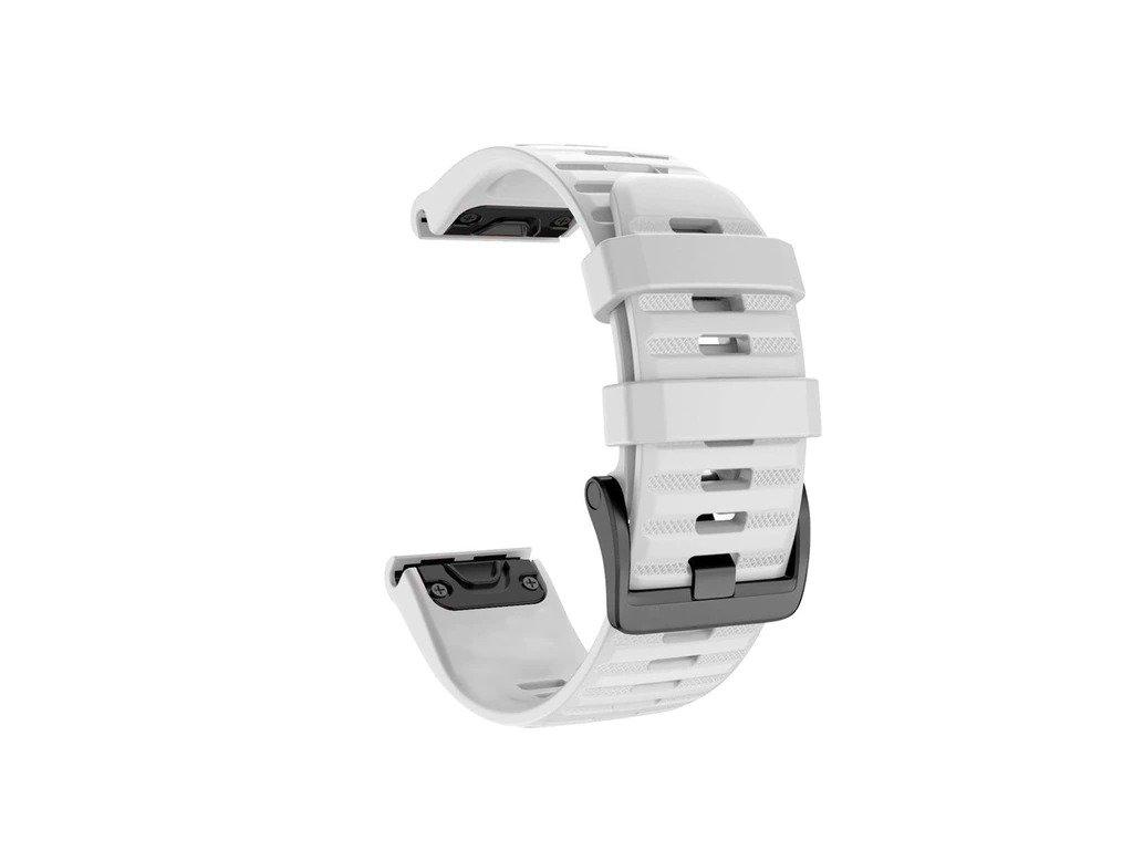 White 26 20 22 mm sport silicone watchband wris variants 0