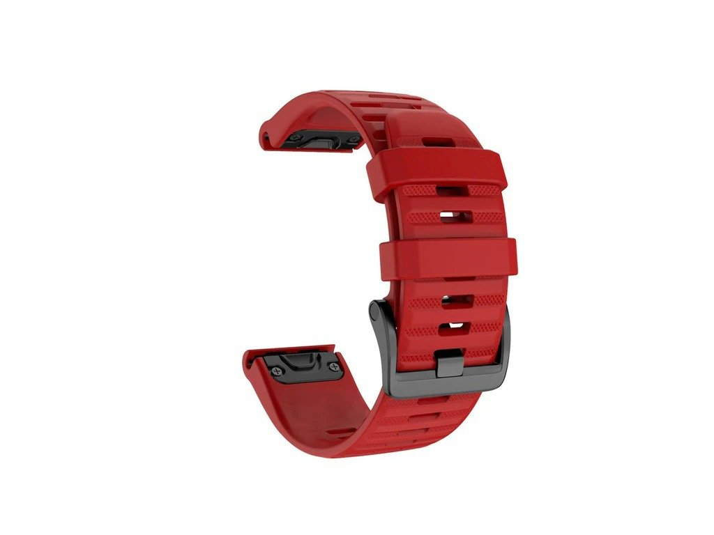 Red 26 20 22 mm sport silicone watchband wris variants 7
