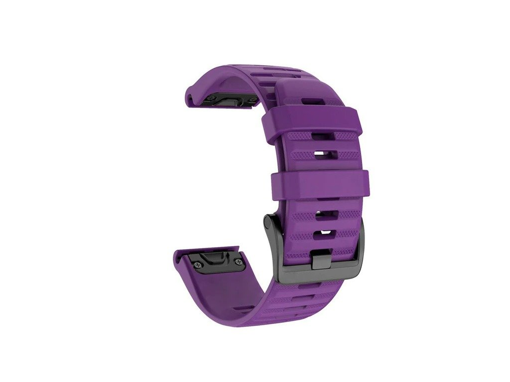 Purple 26 20 22 mm sport silicone watchband wris variants 12