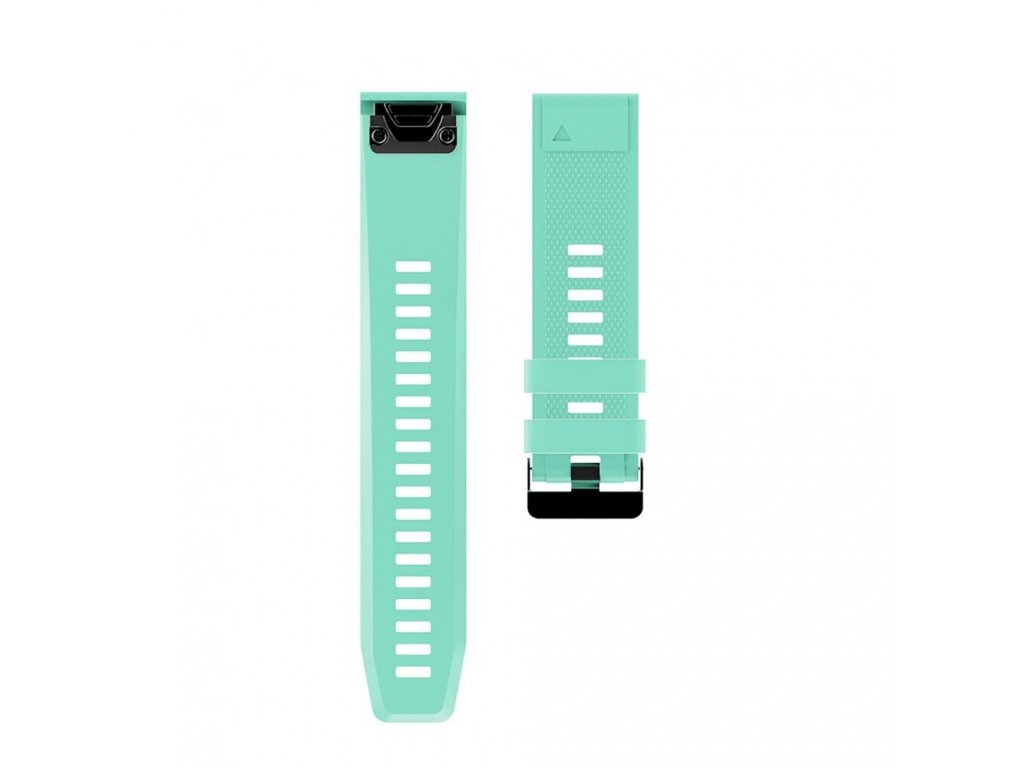11 Teal sheng one soft silicone strap for garmin variants 3