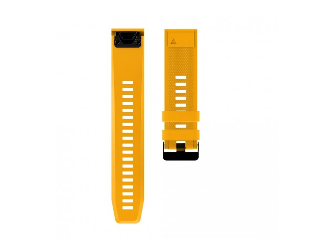 13 Yellow sheng one soft silicone strap for garmin variants 10