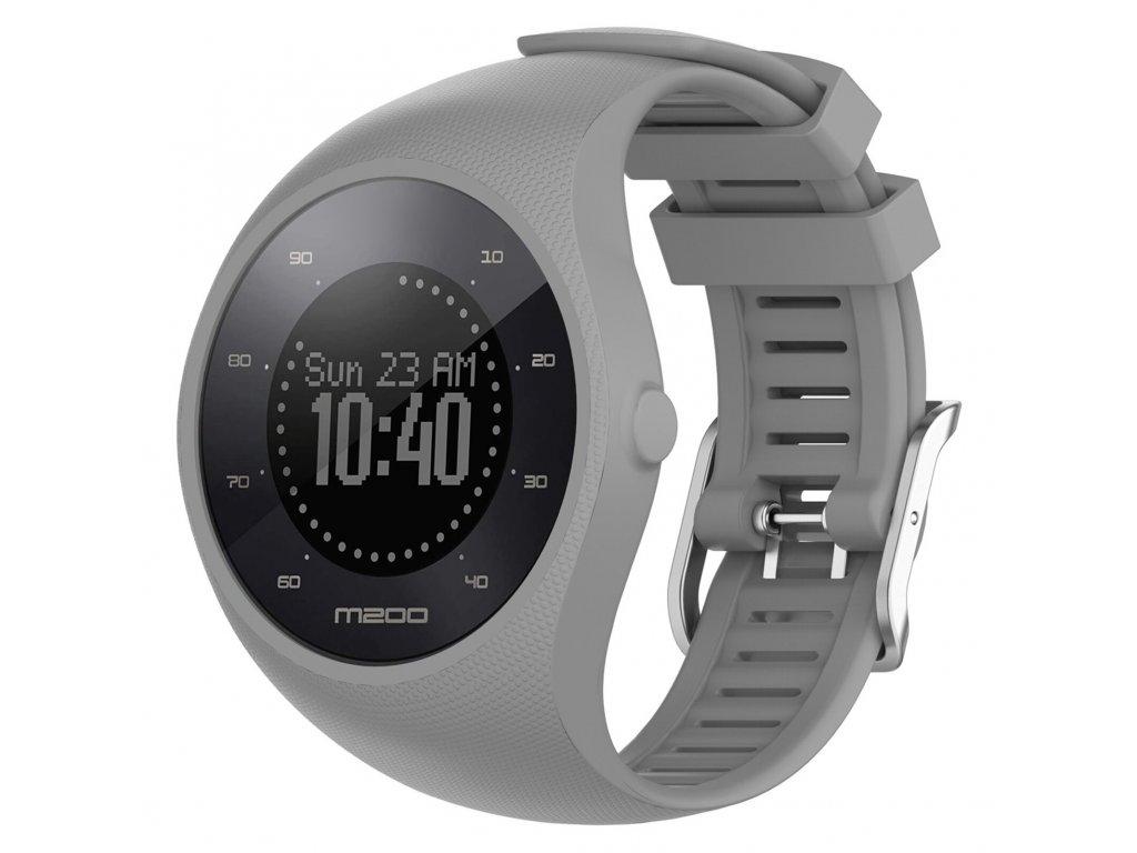 Gray sport silicone wristband straps for pola variants 3