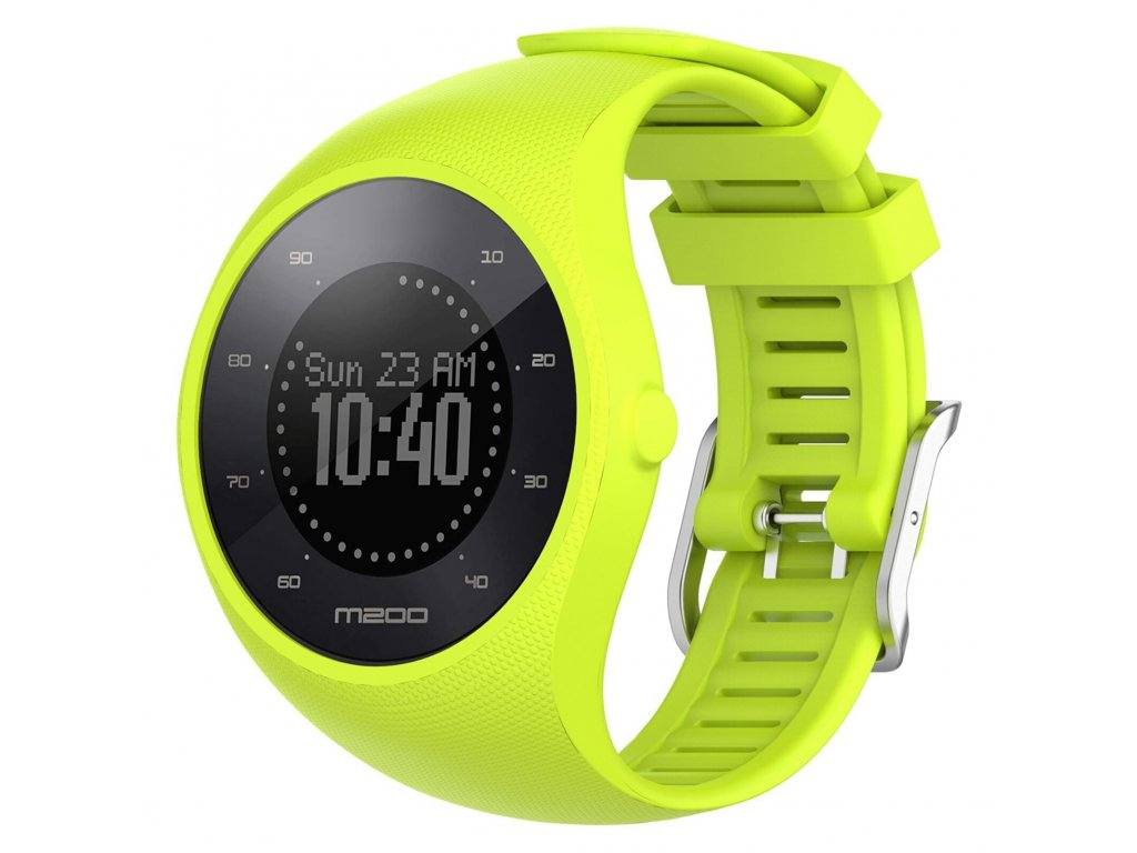 Lime sport silicone wristband straps for pola variants 5