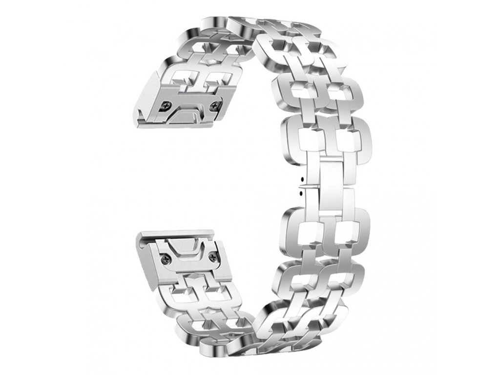 Silver hot 26 mm stainless steel strap watchband variants 4