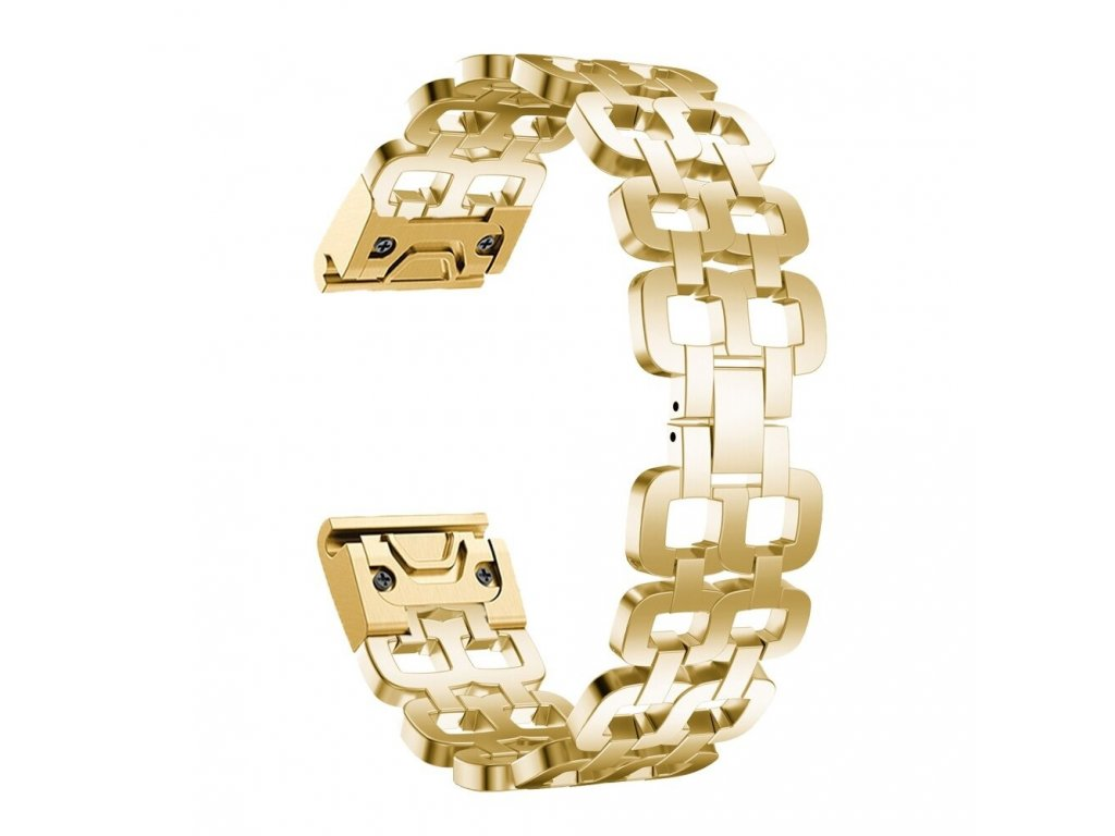 Gold hot 26 mm stainless steel strap watchband variants 5