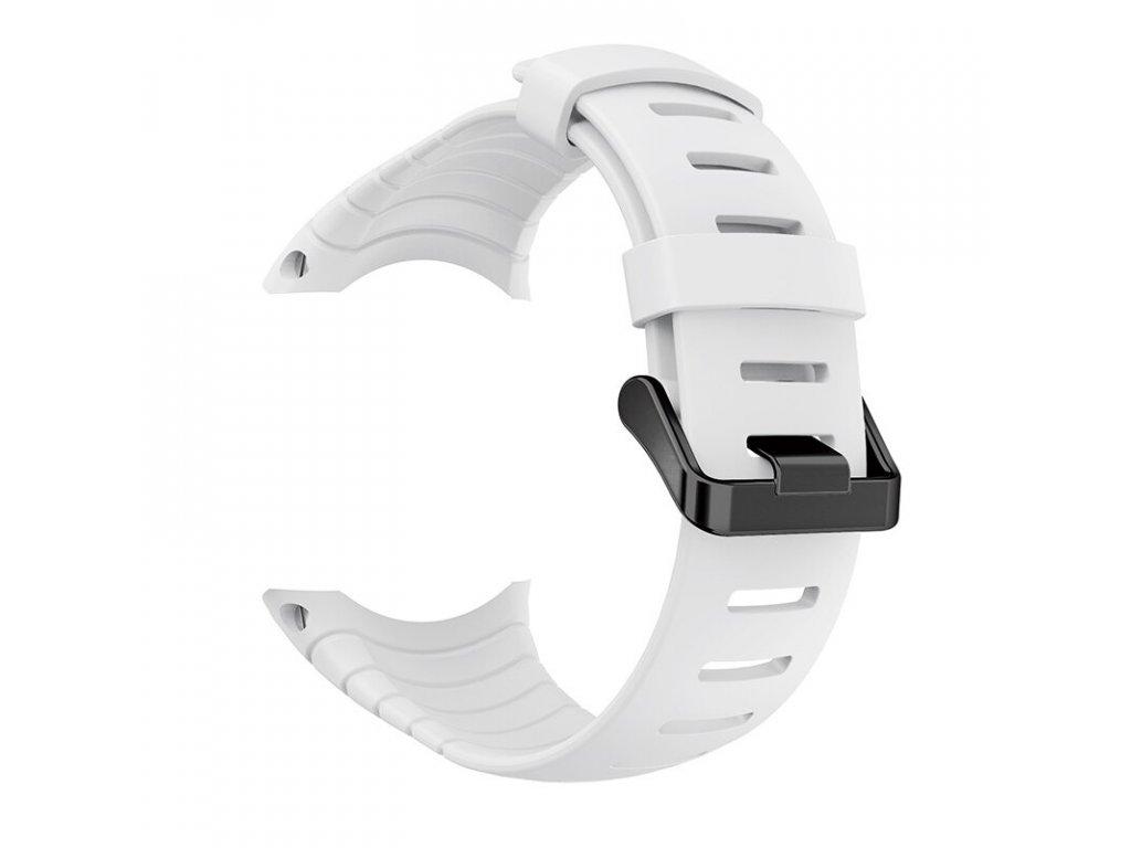 White yayuu watch band for suunto core soft si variants 3