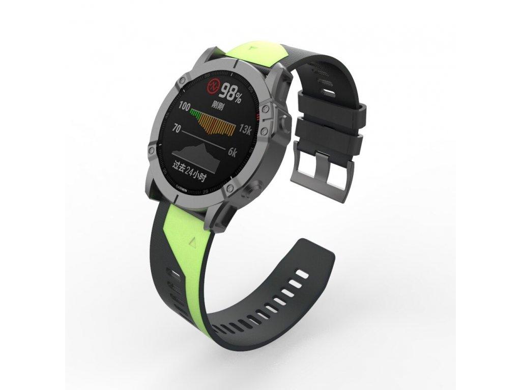 22 26 mm silicone quick release watchband description 6