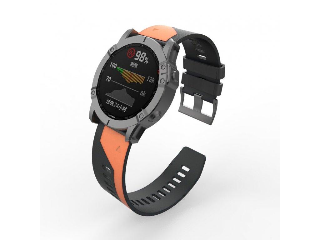22 26 mm silicone quick release watchband description 5