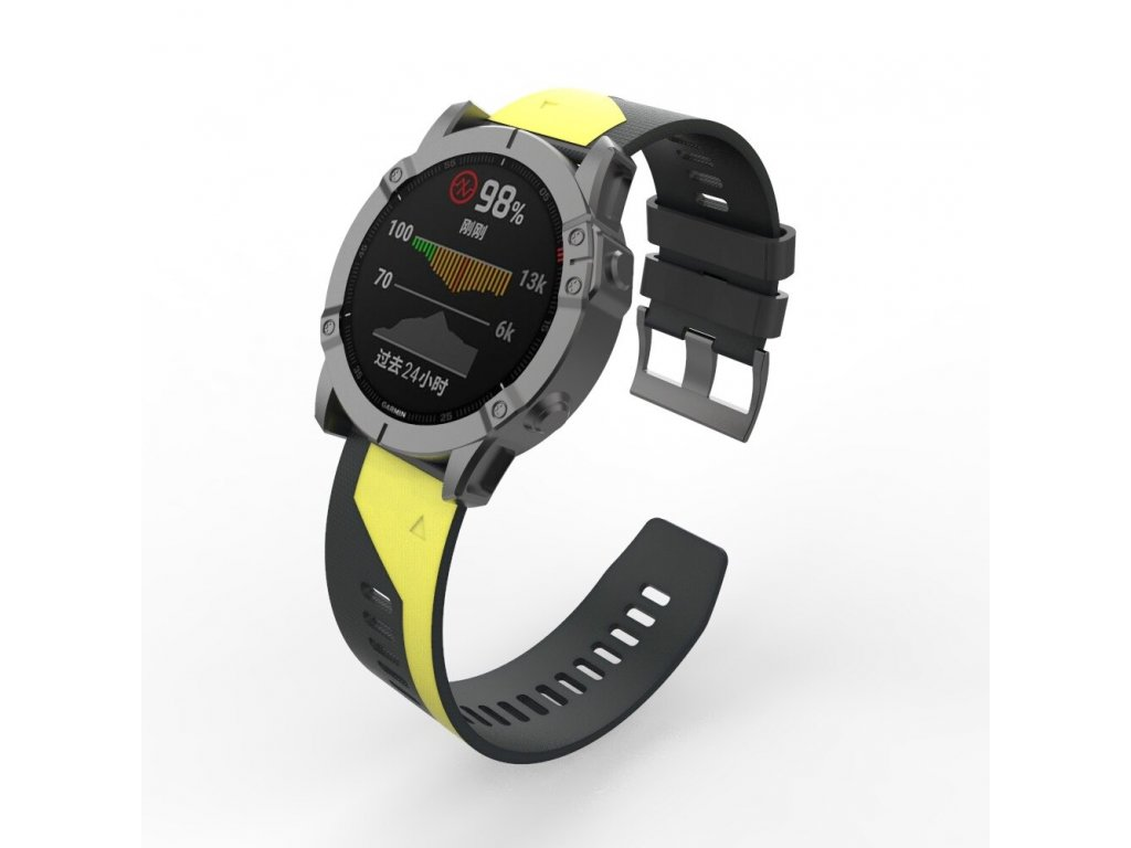 22 26 mm silicone quick release watchband description 3