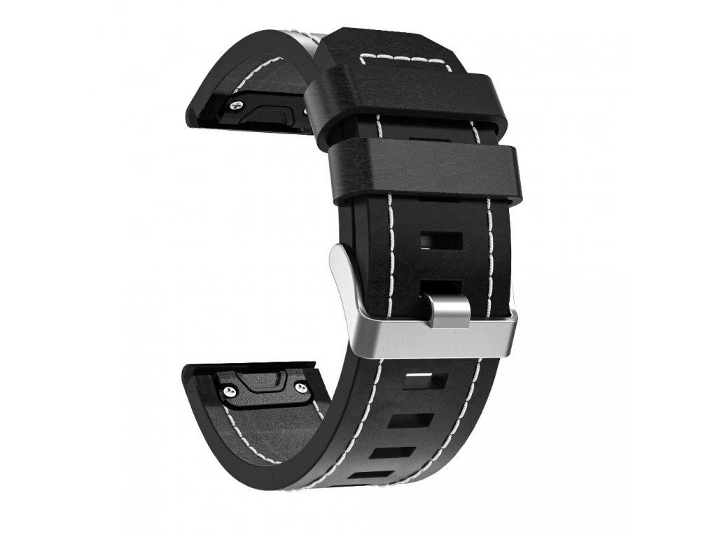 leather strap watchband for garmin fenix description 10
