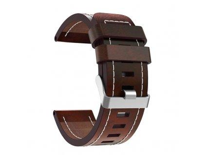 fivstr leather wrist strap watch band wi description 3