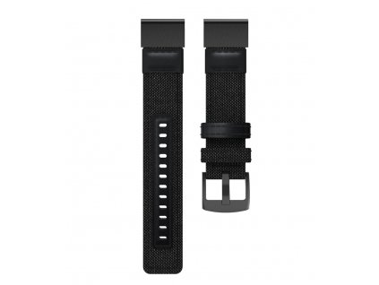 Nylonový řemínek pro Garmin Fenix 22 mm černý EASYFIT/QUICKFIT