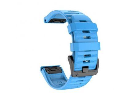 Sky Blue jker 26 22 mm silicone quick release watc variants 8