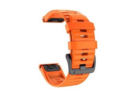 Orange jker 26 22 mm silicone quick release watc variants 1
