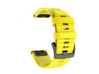 Yellow 26 20 22 mm sport silicone watchband wris variants 10
