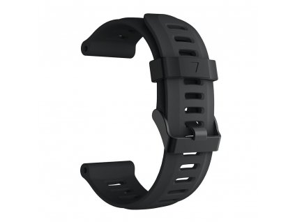black 26 mm wristband for garmin fenix 5 x 5 xplu variants 1
