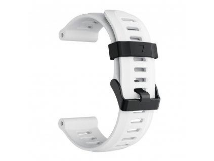 white 26 mm wristband for garmin fenix 5 x 5 xplu variants 7