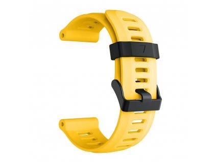 yellow 26 mm wristband for garmin fenix 5 x 5 xplu variants 8