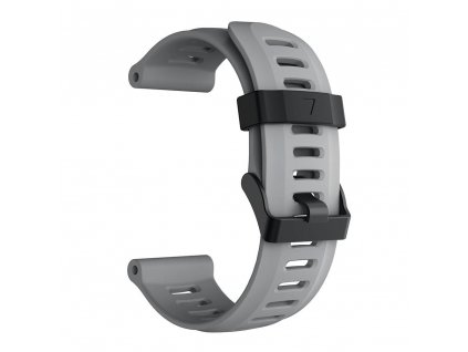 gray 26 mm wristband for garmin fenix 5 x 5 xplu variants 9