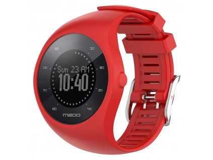 Red sport silicone wristband straps for pola variants 2